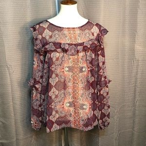 Gently used Knox Rose top size XXL